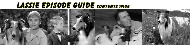 Lassie Episode Guide Contents Page