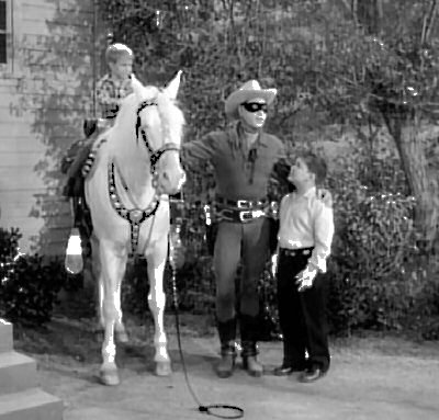 Timmy and Boomer Meet the Lone Ranger and Silver